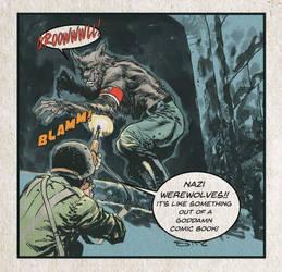 US Airborne Vvs Nazi Werewolf by StazJohnson