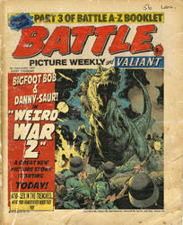 Fake Battle Picture Weekly cover. by StazJohnson