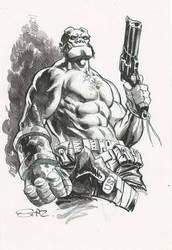Hellboy by StazJohnson