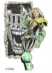 Judge Anderson and Judge Death by StazJohnson