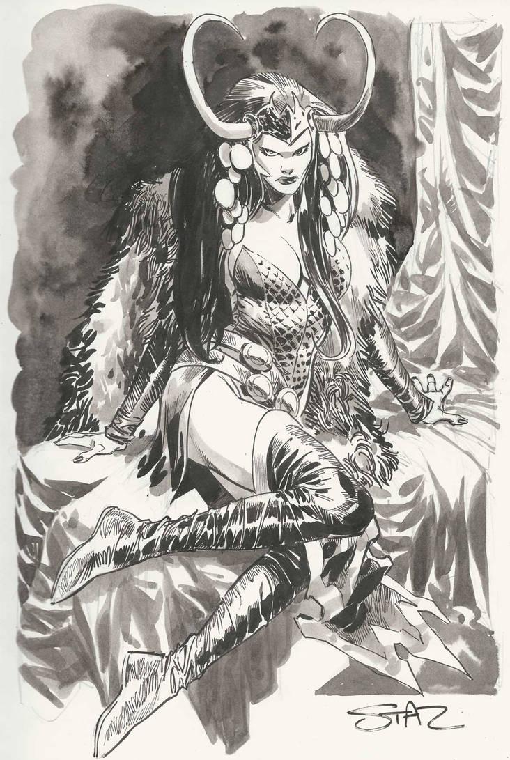 Lady Loki by StazJohnson