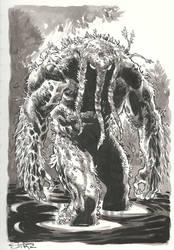 Man-Thing by StazJohnson