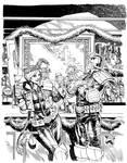 Judge Dredd Megazine cover