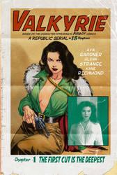 Ava Gardner as Valkyrie by StazJohnson