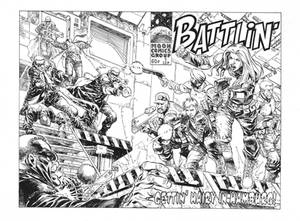 Battlin', private commission