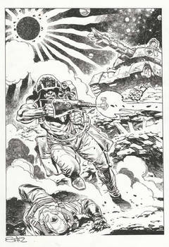 Rogue Trooper, private commission.