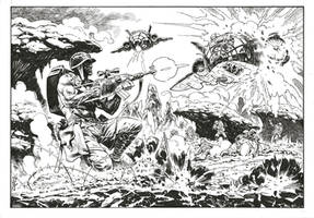 Rogue Trooper, private commission