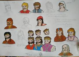 Veled, Uram!, stb.. sketches by Delfinke03