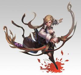elf archer by Nawol