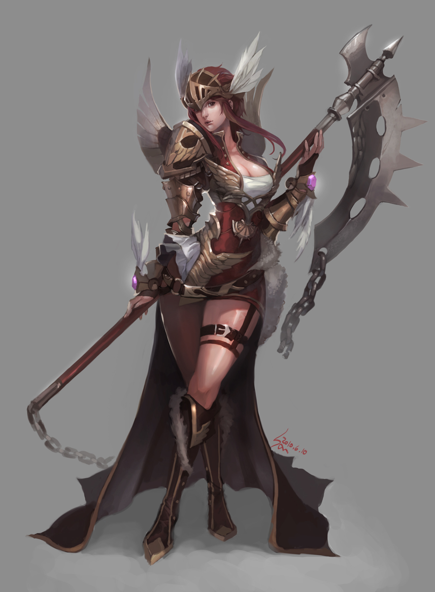 Armor of Valkyrie style