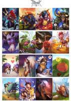 ragnarok2 card illust by Nawol