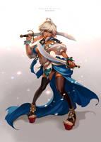 sword dancer by Nawol