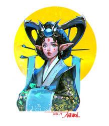 Dokebi bride by Nawol