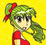 yet another trandom anime girl