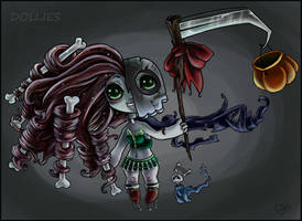 Halloween DOLLIE - OPEN by Clockwork-Heartbeats