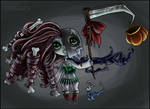Halloween DOLLIE - OPEN