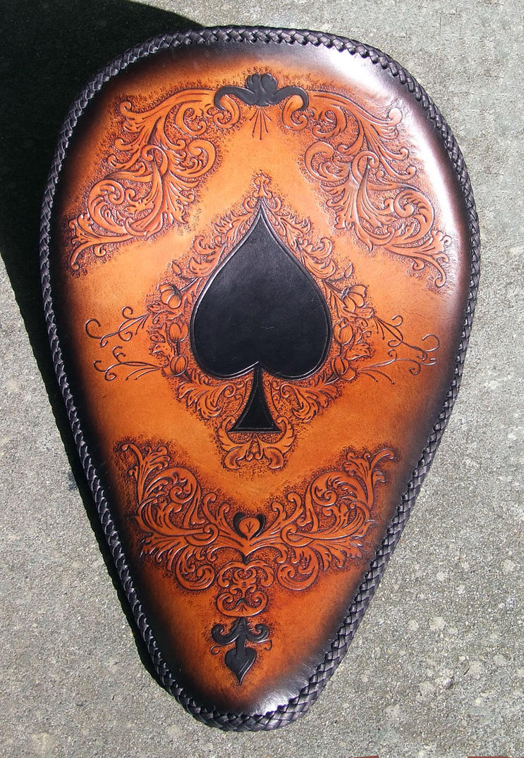 Ace of spades solo seat by leatheroo on deviantart
