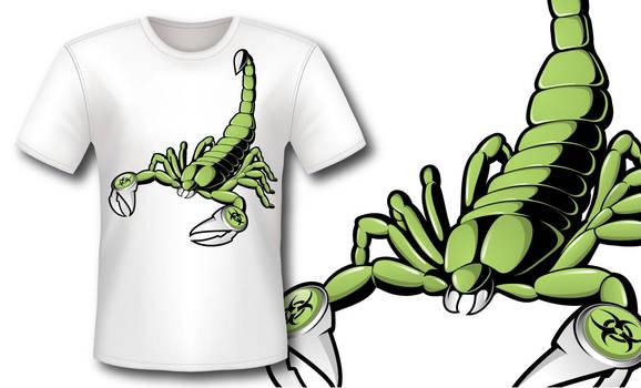 Camiseta Scorpion