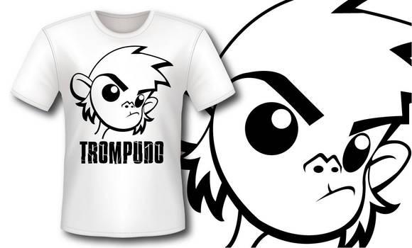 Camiseta Mono Trompudo