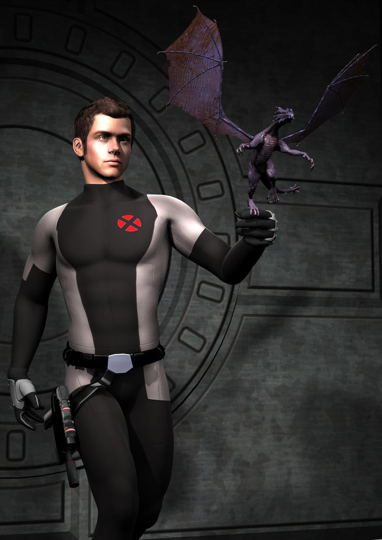 Men - Shadowcat and Lockheed by timberooX Men Shadowcat Movie