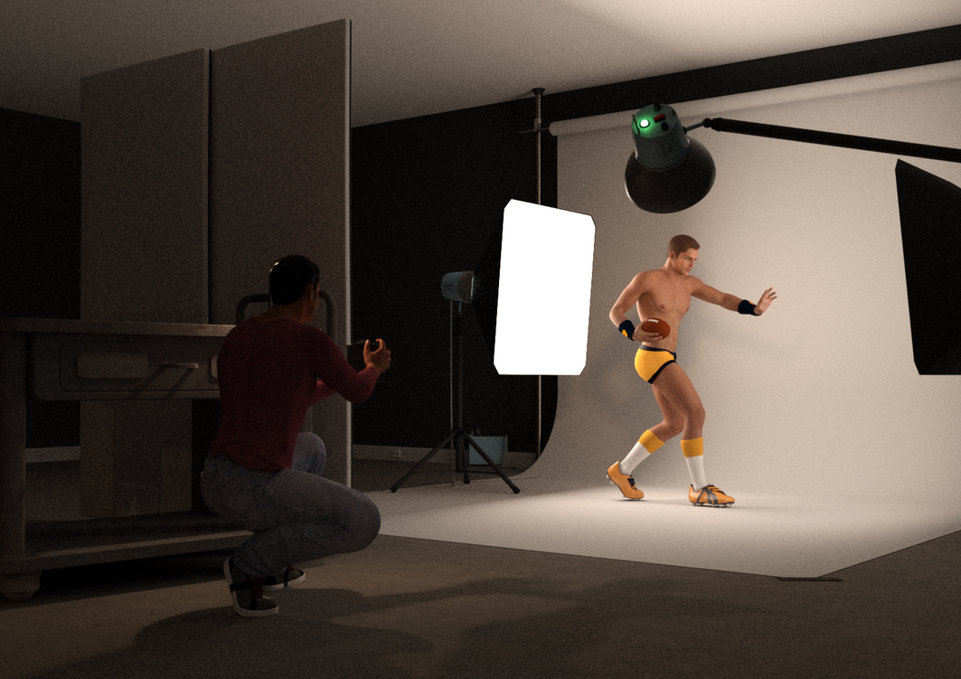 Behind the Scenes of Joz with Football 2 by timberoo