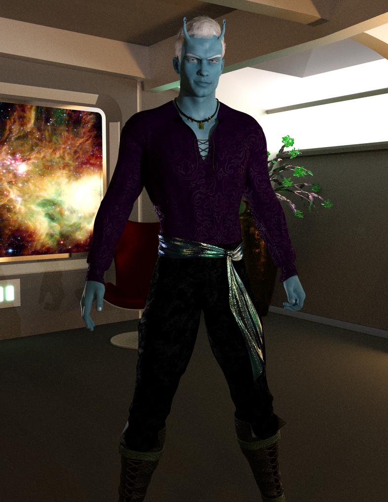 Andorian Captain by timberoo
