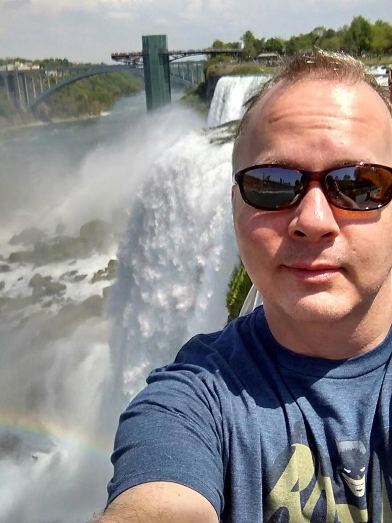 Niagara Falls Selfie 5-27-2016 by timberoo