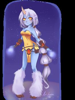Soraka, from the stars