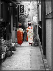 geisha by v0latyl