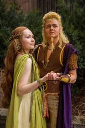 Silmarillion - Nessa and Tulkas by Emery-Dragonfly
