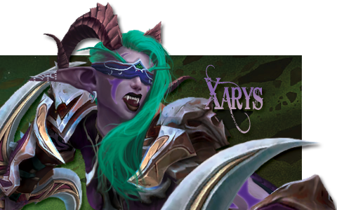 Xarys TwitchTV Chat Cover Overlay: 2021