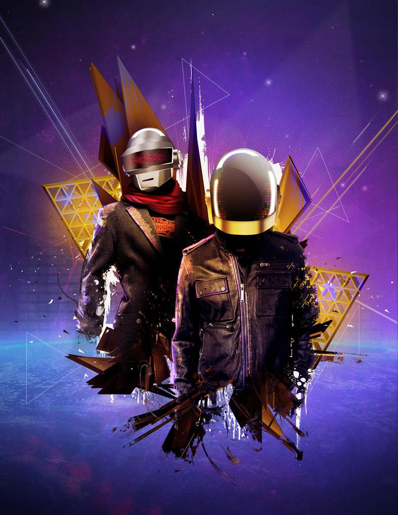 Daft Punk by Sansana