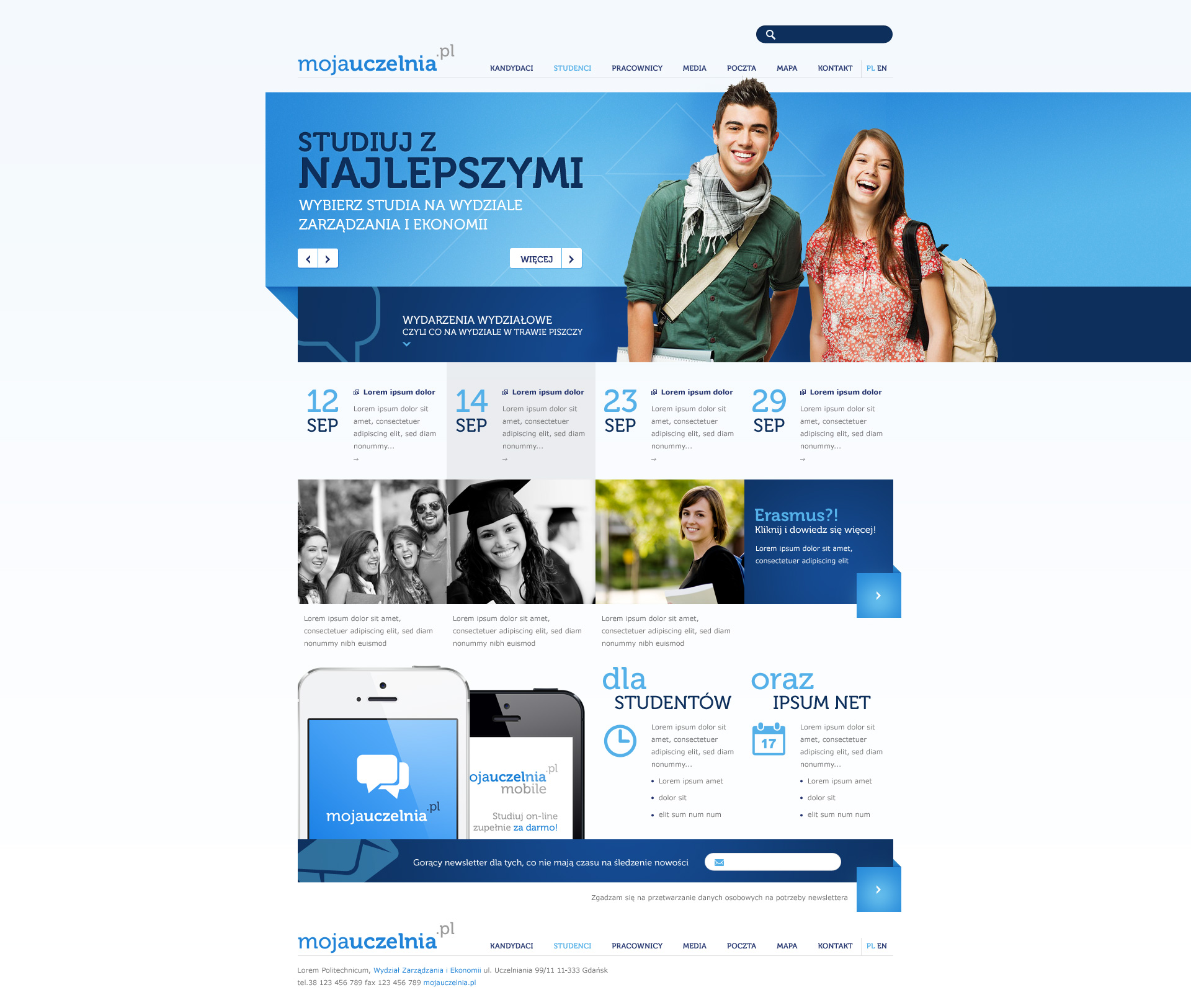 Faculty Website by Sansana