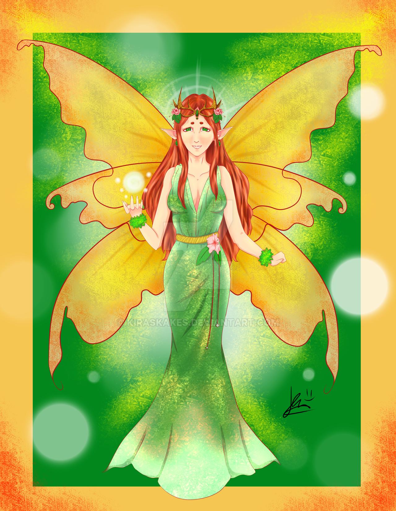 Earth Fairy Queen by KirasKakes on DeviantArt