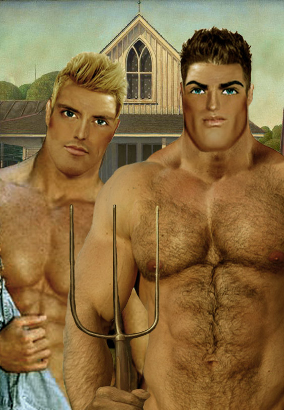 American Gaythic by PerfectPinUpz