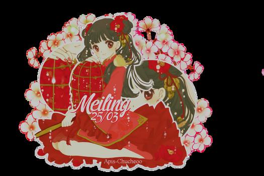 [ 30 ] Happy birthday Meiling