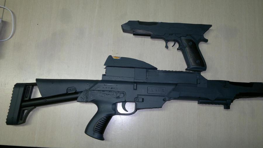 Starfleet Type 36 Mark G Phaser Carbine by docwinter