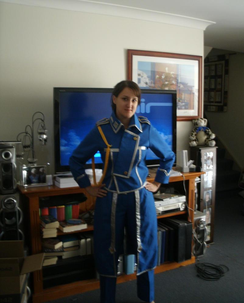 1st Lieutenant Athena Heinkel by docwinter