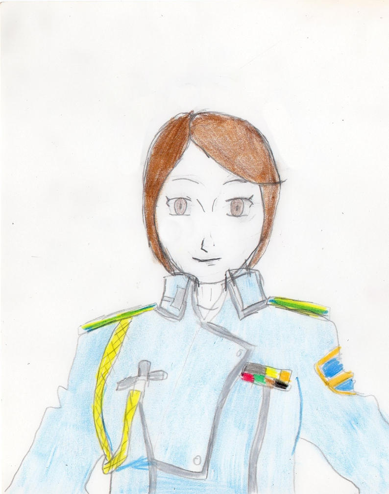 1st Lieutenant Athena Heinkel Profile Card by docwinter