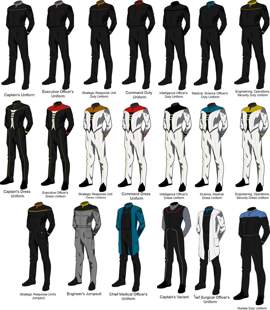 Taskforce Equinox: USS Nautilius Uniform List by docwinter