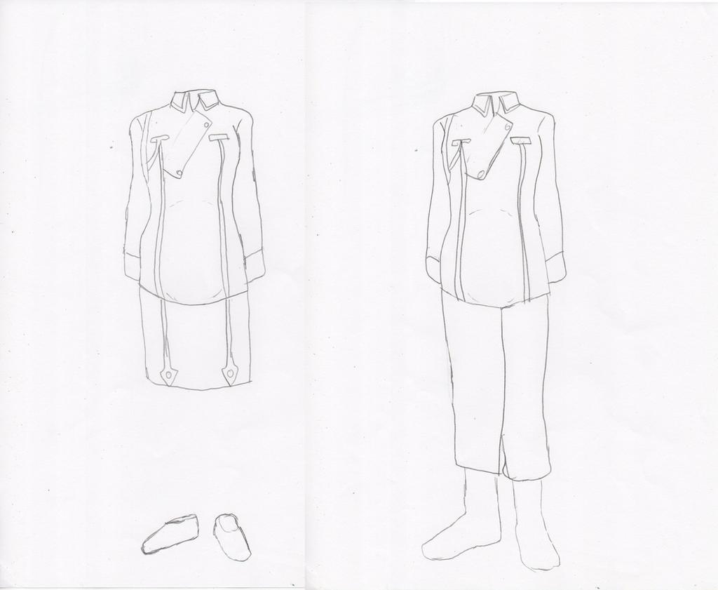 Amestris Class A Maternity Uniform by docwinter