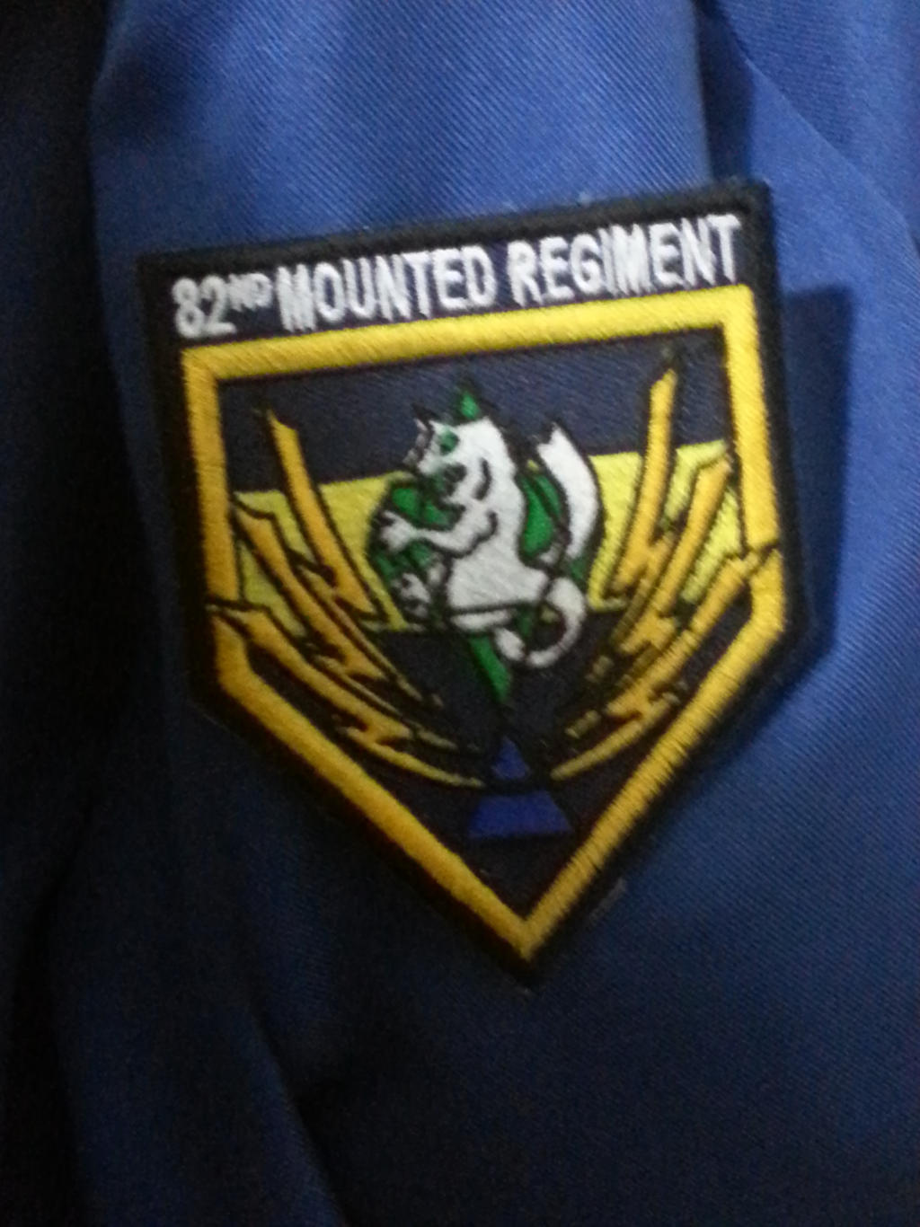 82nd Mounted Regiment Patch by docwinter