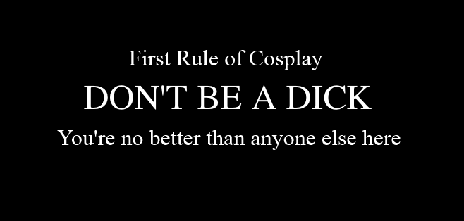 The Rules of Cosplay