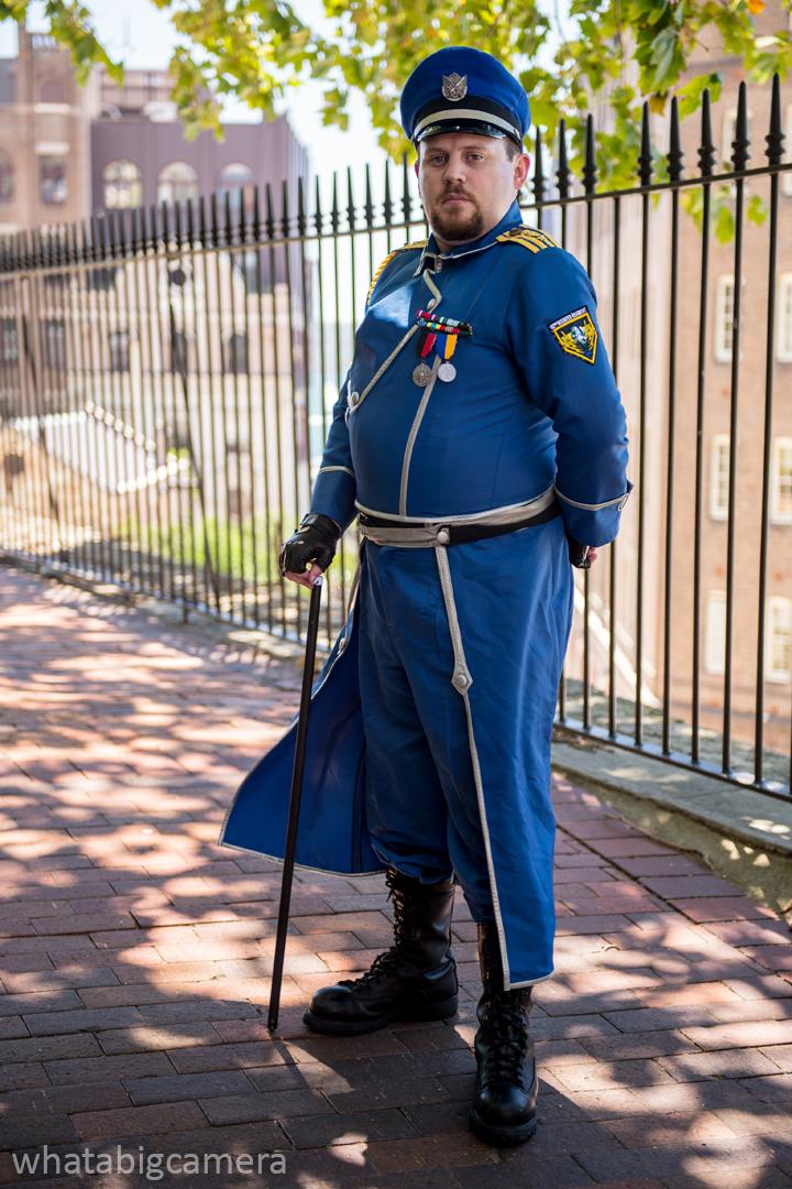 Colonel Azrael Gotha by docwinter
