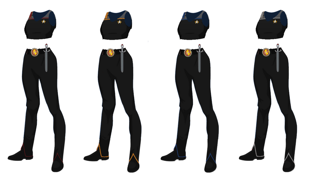 ISS Vanguard Female Officers Uniform variant 5 by ...