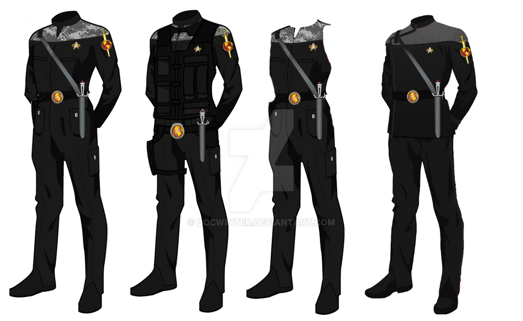 ISS Vanguard Marine Officer Uniform by docwinter