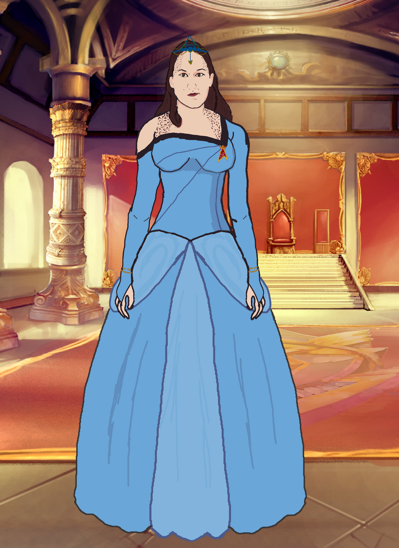 Her Royal Trekkie Princess by docwinter