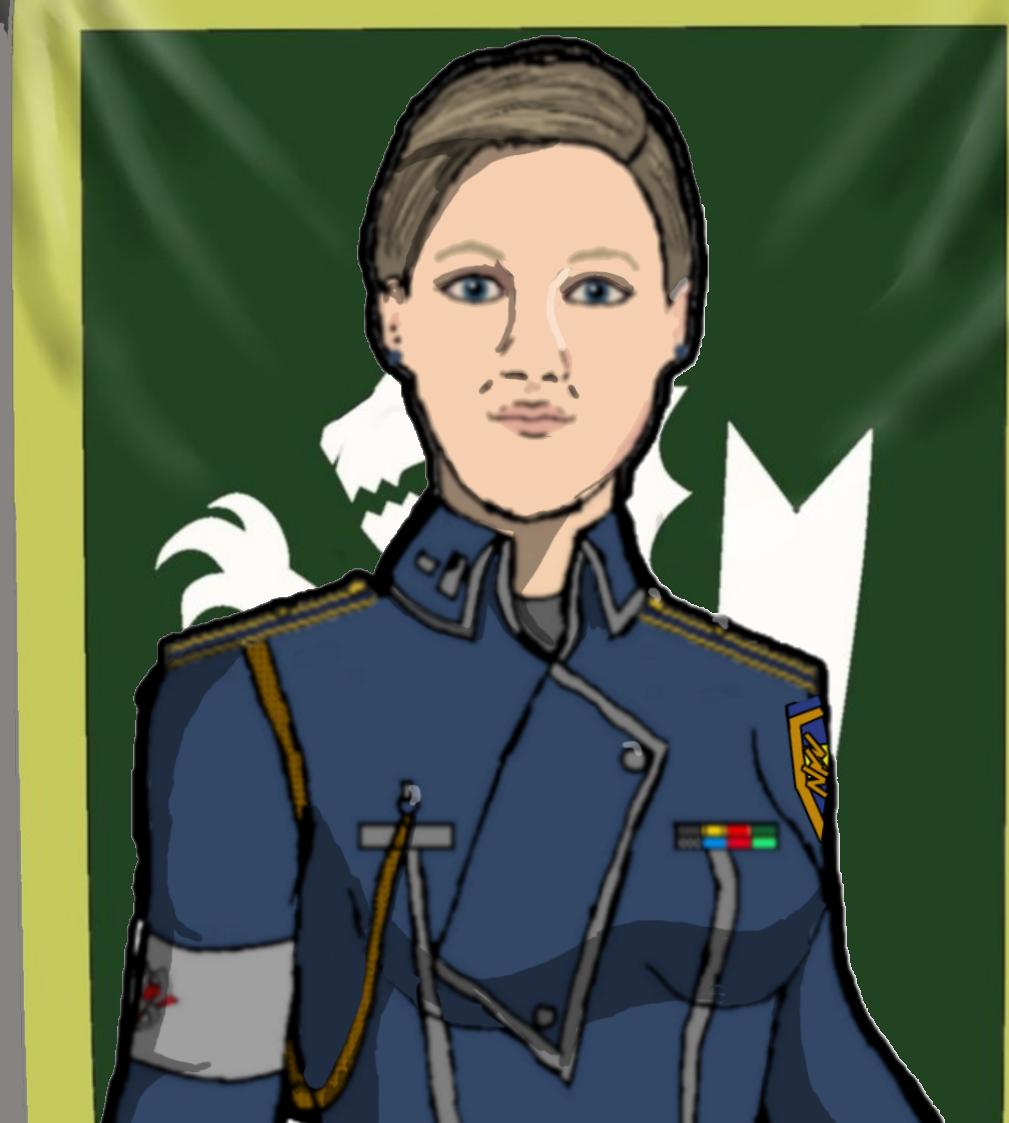 Doctor Madeline Baxter Profile Card V2 by docwinter