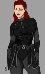 Legionnaire Captain Erica O'Brien