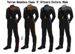 Terran Rebellion Officers Class B Uniform Male